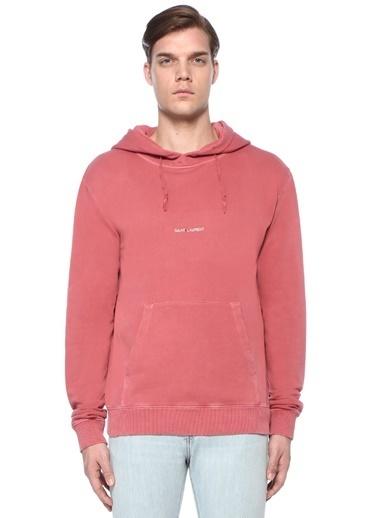 Saint Laurent Sweatshirt Pembe